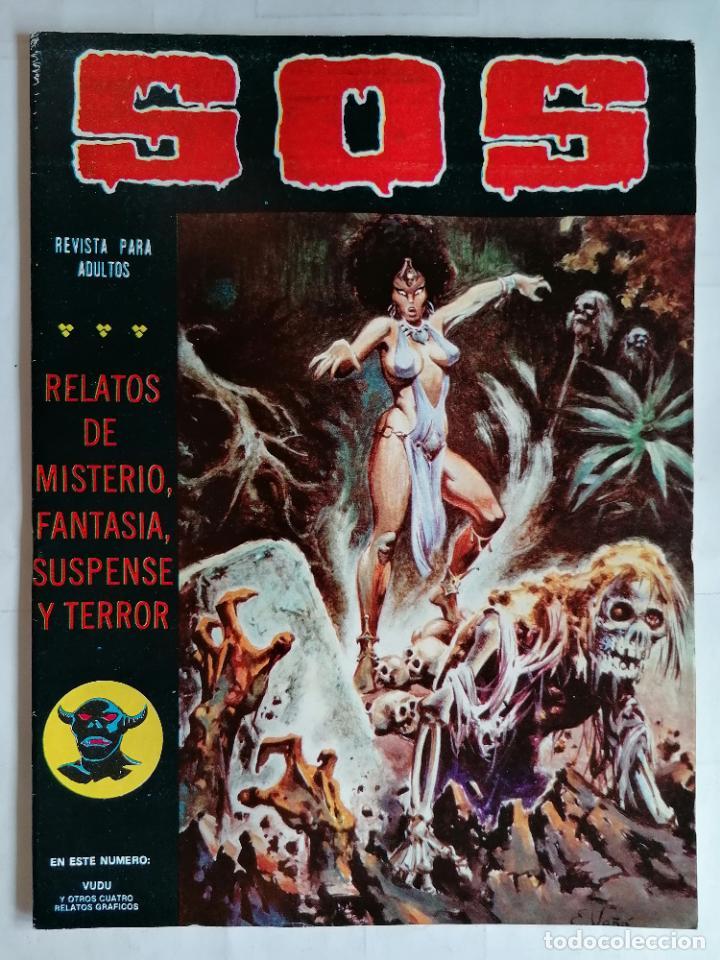 TEBEO COMICS SOS, RELATOS DE MISTERIO, FANTASIA, SUSPENSE Y TERROR, Nº 31, SEGUNDA EPOCA, AÑO 1980 (Tebeos y Comics - Valenciana - S.O.S)