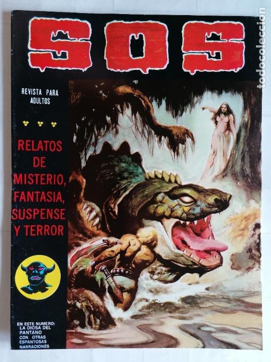 TEBEO COMICS SOS, RELATOS DE MISTERIO, FANTASIA, SUSPENSE Y TERROR, Nº 37, SEGUNDA EPOCA, AÑO 1980 (Tebeos y Comics - Valenciana - S.O.S)