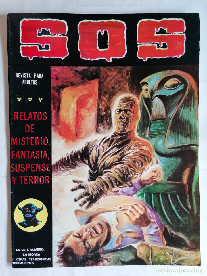 TEBEO COMICS SOS, RELATOS DE MISTERIO, FANTASIA, SUSPENSE Y TERROR, Nº 39, SEGUNDA EPOCA, AÑO 1980 (Tebeos y Comics - Valenciana - S.O.S)