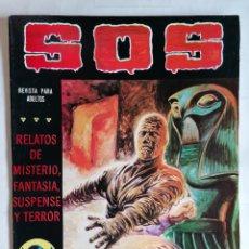 Livros de Banda Desenhada: TEBEO COMICS SOS, RELATOS DE MISTERIO, FANTASIA, SUSPENSE Y TERROR, Nº 39, SEGUNDA EPOCA, AÑO 1980. Lote 209736191