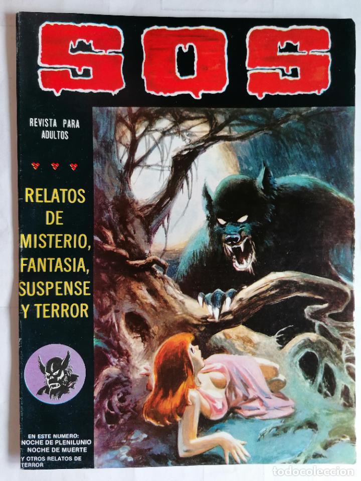 TEBEO COMICS SOS, RELATOS DE MISTERIO, FANTASIA, SUSPENSE Y TERROR, Nº 40, SEGUNDA EPOCA, AÑO 1980 (Tebeos y Comics - Valenciana - S.O.S)