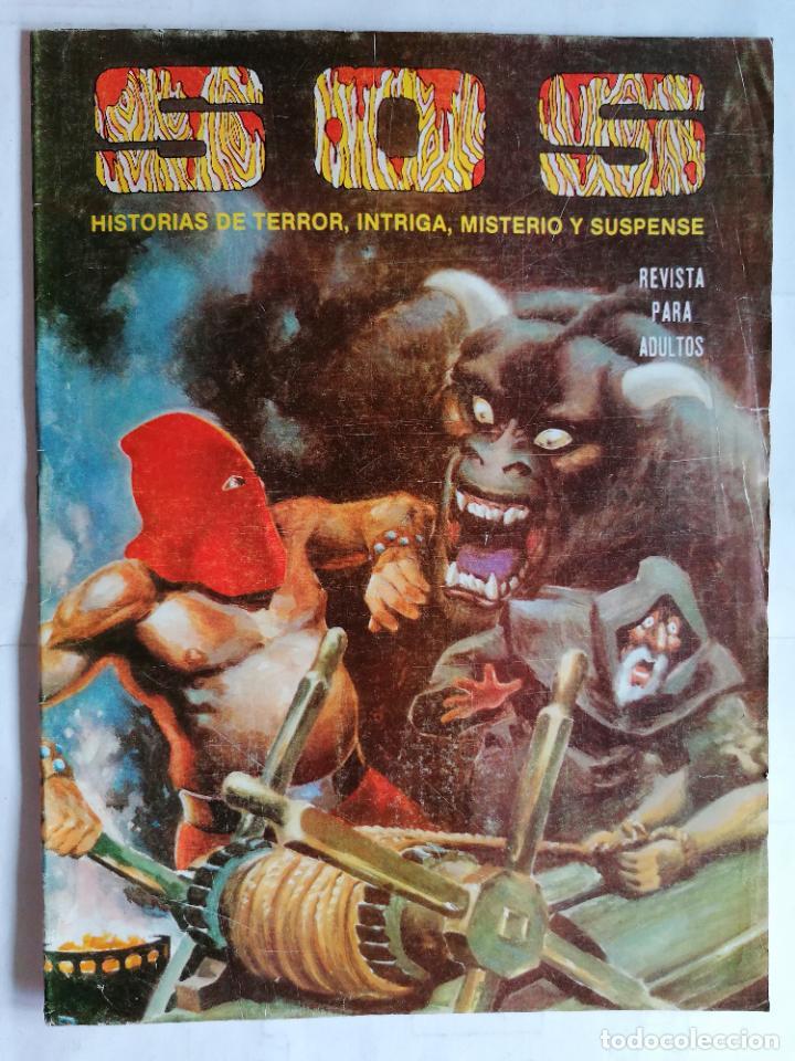 TEBEO COMICS SOS, RELATOS DE MISTERIO, FANTASIA, SUSPENSE Y TERROR, Nº 41, SEGUNDA EPOCA, AÑO 1980 (Tebeos y Comics - Valenciana - S.O.S)