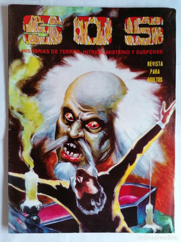 TEBEO COMICS SOS, RELATOS DE MISTERIO, FANTASIA, SUSPENSE Y TERROR, Nº 45, SEGUNDA EPOCA, AÑO 1980 (Tebeos y Comics - Valenciana - S.O.S)