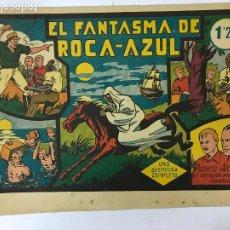 Tebeos: ROBERTO ALCAZAR Y PEDRIN ORIGINAL Nº 12 - EL FANTASMA DE ROCA - AZUL, 1,25PTAS. Lote 209905100