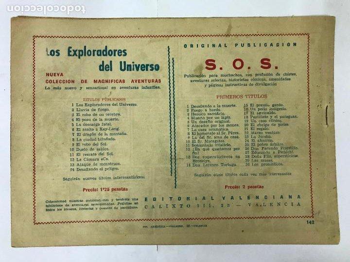Tebeos: EL PODER DE LA PIRATA CON EL GUERRERO DEL ANTIFAZ Nº142 ORIGINAL (1,25 PTS) - Foto 2 - 209916751