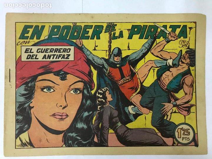 EL PODER DE LA PIRATA CON EL GUERRERO DEL ANTIFAZ Nº142 ORIGINAL (1,25 PTS) (Tebeos y Comics - Valenciana - Guerrero del Antifaz)