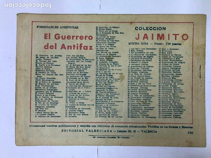 Tebeos: EL GUERRERO Y LOS ABDALLAH CON EL GUERRERO DEL ANTIFAZ Nº116 ORIGINAL (1,25 PTS) M. GAGO - Foto 2 - 209949116