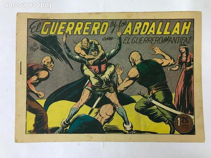 EL GUERRERO Y LOS ABDALLAH CON EL GUERRERO DEL ANTIFAZ Nº116 ORIGINAL (1,25 PTS) M. GAGO (Tebeos y Comics - Valenciana - Guerrero del Antifaz)