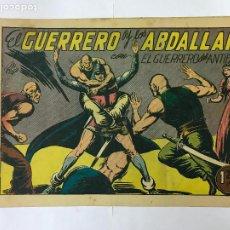Tebeos: EL GUERRERO Y LOS ABDALLAH CON EL GUERRERO DEL ANTIFAZ Nº116 ORIGINAL (1,25 PTS) M. GAGO. Lote 209949116