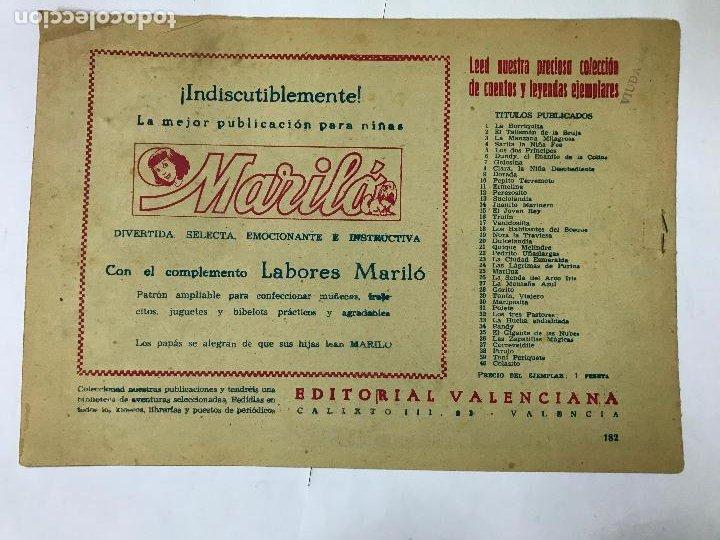 Tebeos: EL ACANTILADO CON EL GUERRERO DEL ANTIFAZ Nº182 ORIGINAL (1,25 PTS) M. GAGO - Foto 2 - 209951641