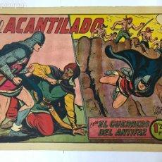 Tebeos: EL ACANTILADO CON EL GUERRERO DEL ANTIFAZ Nº182 ORIGINAL (1,25 PTS) M. GAGO. Lote 209951641