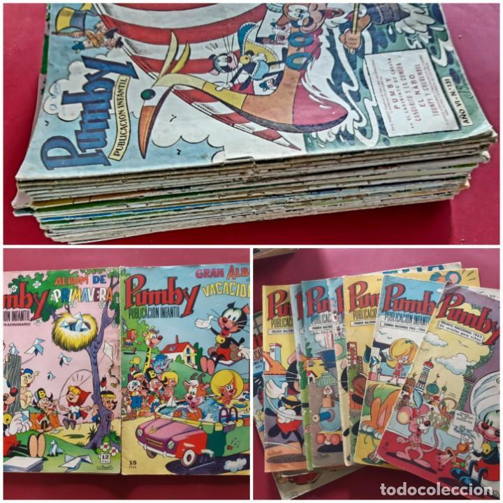 LOTE DE 42-PUMBY-EDITORIAL VALENCIANA (Tebeos y Comics - Valenciana - Pumby)