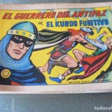 Tebeos: EL GUERRERO DEL ANTIFAZ Nº 622. Lote 210113665