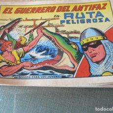 Tebeos: EL GUERRERO DEL ANTIFAZ Nº 616. Lote 210113850