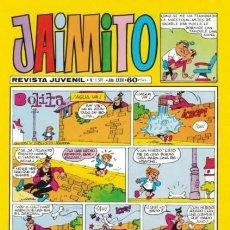 Tebeos: JAIMITO-SEMANAL- Nº 1591 -1981-KARPA-SERAFIN-PALOP-SANCHIS-AMBRÓS-ROBERT-DIFÍCIL-M. BUENO-LEAN-3764. Lote 210138565