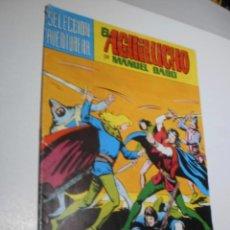 Tebeos: EL AGUILUCHO, MANUEL GAGO. Nº 9 1981 (CON PEQUEÑA ROTURA EN EL LOMO). Lote 210231467