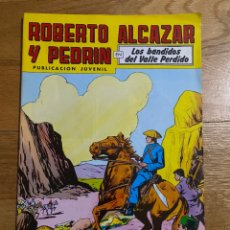 Tebeos: ROBERTO ALCAZAR Y PEDRIN EN LOS BANDIDOS DEL VALLE PERDIDO NÚMERO 246. Lote 210348238