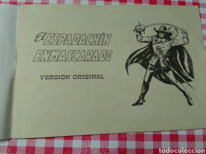Tebeos: EL ESPADACHÍN ENMASCARADO .Guion P.Gago .Dibujos M.Gago .Ed.Valenciana - Foto 6 - 210648371