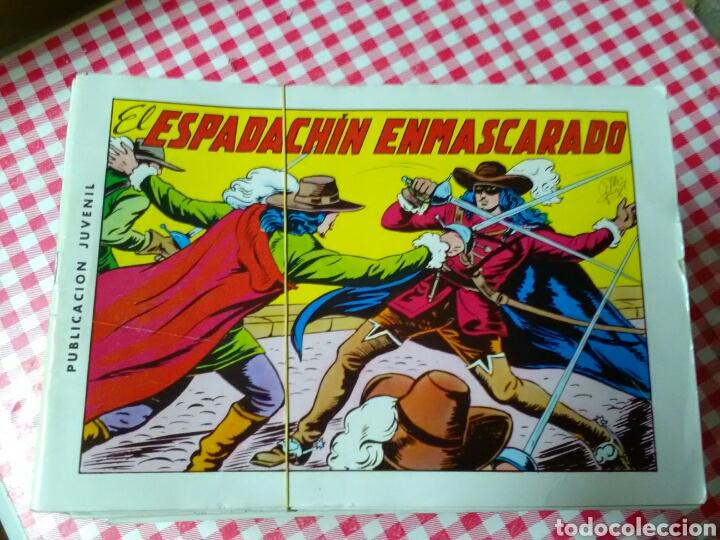 EL ESPADACHÍN ENMASCARADO .GUION P.GAGO .DIBUJOS M.GAGO .ED.VALENCIANA (Tebeos y Comics - Valenciana - Espadachín Enmascarado)