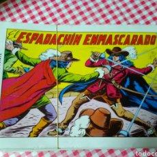 Tebeos: EL ESPADACHÍN ENMASCARADO .GUION P.GAGO .DIBUJOS M.GAGO .ED.VALENCIANA. Lote 210648371