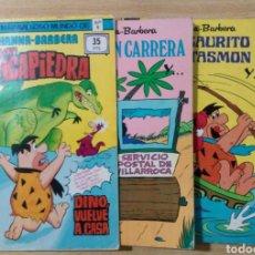 Tebeos: LOTE PICAPIEDRA MARAVILLOSO MUNDO HANNA BARBERA Nº 9 TELEHISTORIETA Nº 122, 148 Y 174. Lote 210658750