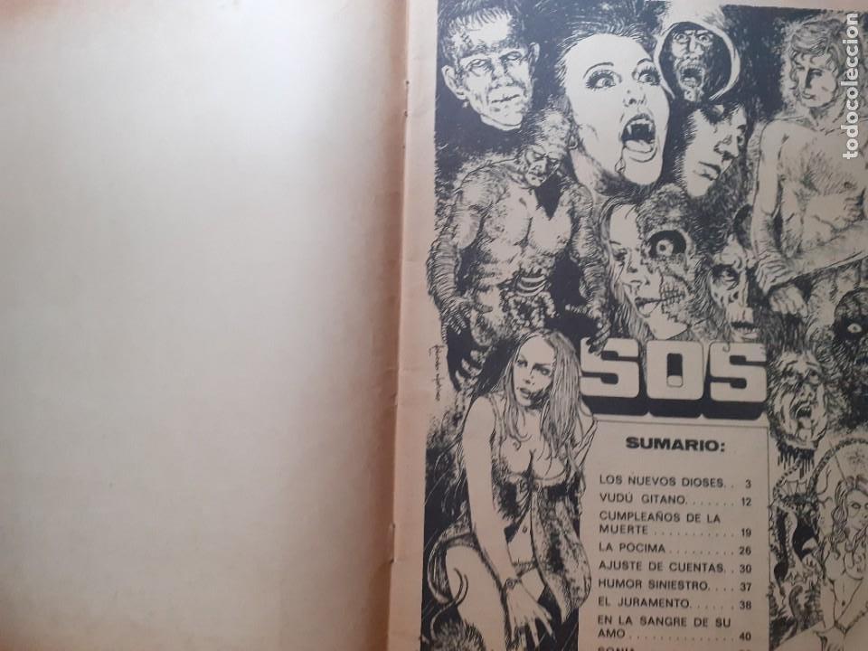Tebeos: SOS -I ÉPOCA - Nº 14 -GRANDES V. VAÑÓ-MANUEL GAGO-MORENO CASARES-1975-MUY DIFÍCIL-BUENO-LEAN-3815 - Foto 5 - 210736831