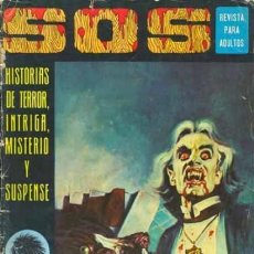 Giornalini: SOS-I ÉPOCA-HISTORIAS DE TERROR- Nº 24 -ANTONIO BORRELL-E.VAÑÓ-MATEU-1976-CORRECTO-DIFÍCIL-3817. Lote 210745891