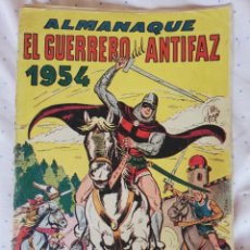 Tebeos: ALMANAQUE 1954 EL GUERRERO DEL ANTIFAZ. Lote 210759455