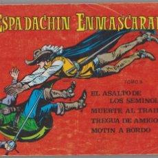 Tebeos: EL ESPADACHÍN ENMASCARADO -- TOMO 9 -- INCLUYE DEL 33 AL 36. Lote 210768369