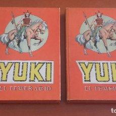 Tebeos: YUKI EL TEMERARIO SELECCIÓN AVENTURERA EDITORIAL VALENCIANA COMPLETA EN DOS TOMOS ENCUADERNADOS. Lote 210822042