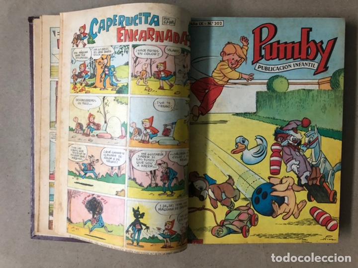 Tebeos: PUMBY + SUPER PUMBY TOMO CON 16 TEBEOS (EDITORIAL VALENCIANA AÑOS 60) ENCUADERNADO - Foto 7 - 210957006