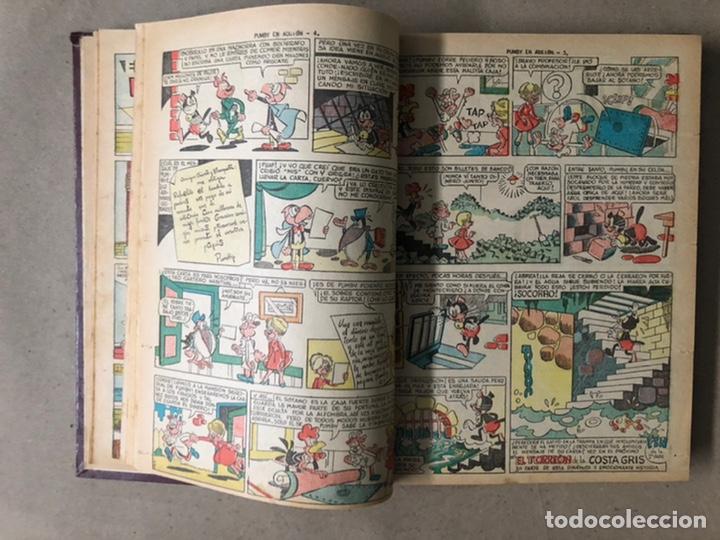 Tebeos: PUMBY + SUPER PUMBY TOMO CON 16 TEBEOS (EDITORIAL VALENCIANA AÑOS 60) ENCUADERNADO - Foto 8 - 210957006