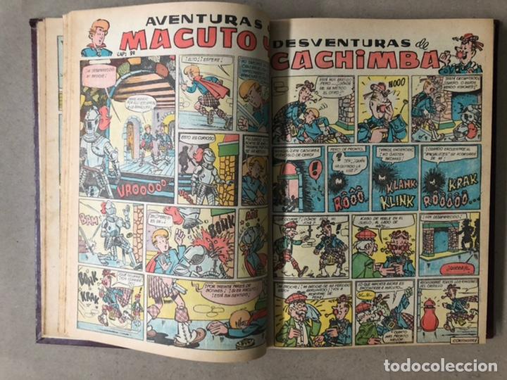 Tebeos: PUMBY + SUPER PUMBY TOMO CON 16 TEBEOS (EDITORIAL VALENCIANA AÑOS 60) ENCUADERNADO - Foto 10 - 210957006