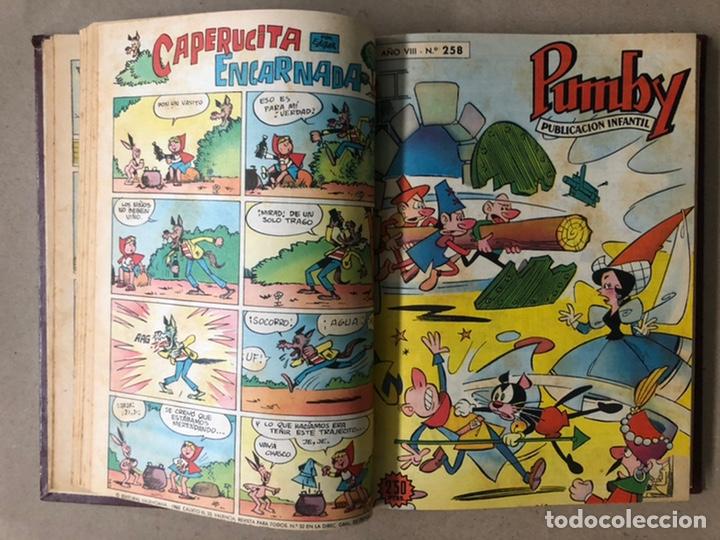 Tebeos: PUMBY + SUPER PUMBY TOMO CON 16 TEBEOS (EDITORIAL VALENCIANA AÑOS 60) ENCUADERNADO - Foto 11 - 210957006