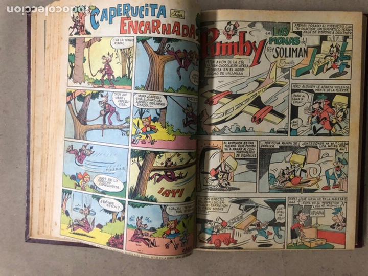 Tebeos: PUMBY + SUPER PUMBY TOMO CON 16 TEBEOS (EDITORIAL VALENCIANA AÑOS 60) ENCUADERNADO - Foto 13 - 210957006