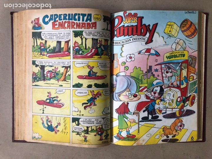 Tebeos: PUMBY + SUPER PUMBY TOMO CON 16 TEBEOS (EDITORIAL VALENCIANA AÑOS 60) ENCUADERNADO - Foto 22 - 210957006