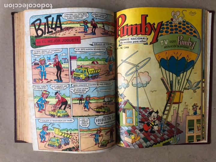 Tebeos: PUMBY + SUPER PUMBY TOMO CON 16 TEBEOS (EDITORIAL VALENCIANA AÑOS 60) ENCUADERNADO - Foto 26 - 210957006