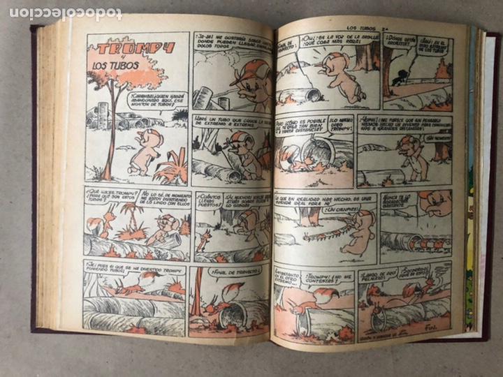 Tebeos: PUMBY + SUPER PUMBY TOMO CON 16 TEBEOS (EDITORIAL VALENCIANA AÑOS 60) ENCUADERNADO - Foto 27 - 210957006