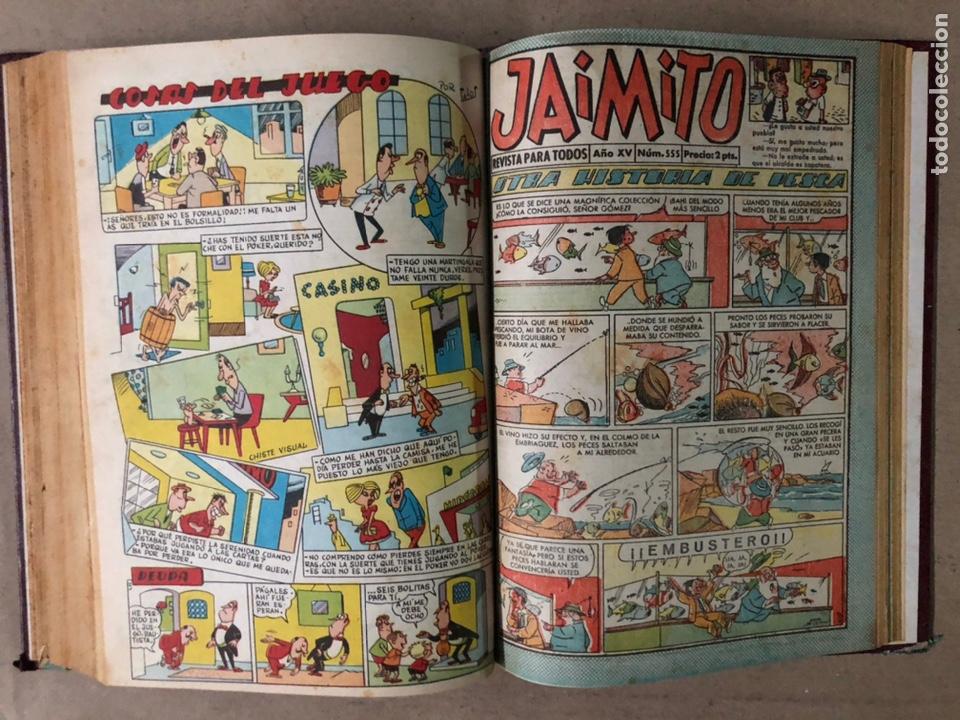 Tebeos: JAIMITO (EDITORIAL VALENCIANA). LOTE DE 47 TEBEOS ENCUADERNADOS EN 3 TOMOS. DE 1961 A 1969. - Foto 19 - 210969221