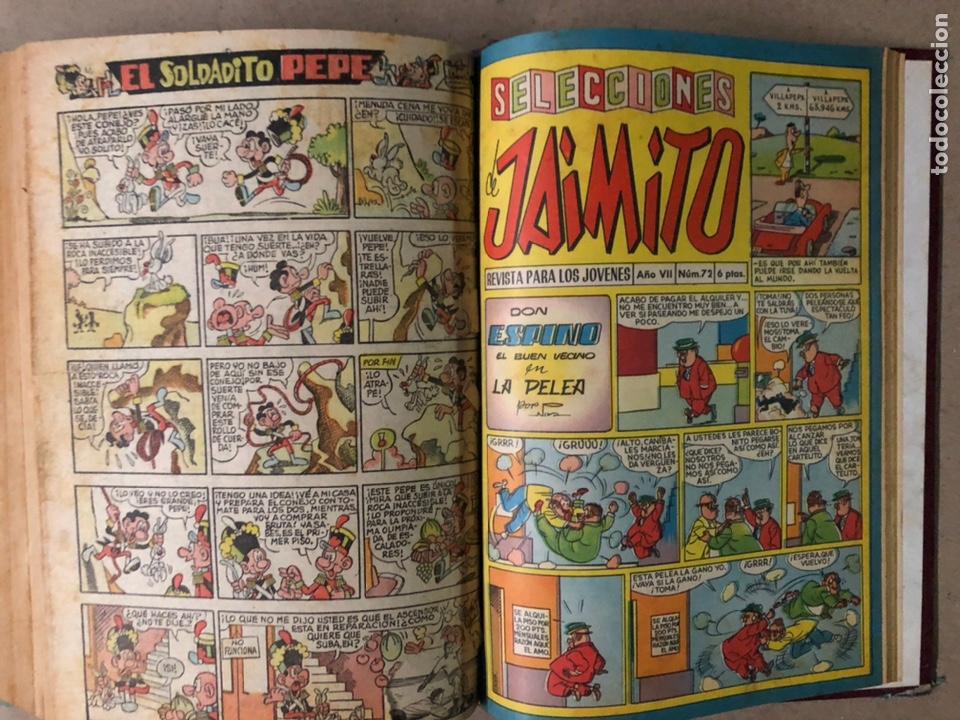 Tebeos: JAIMITO (EDITORIAL VALENCIANA). LOTE DE 47 TEBEOS ENCUADERNADOS EN 3 TOMOS. DE 1961 A 1969. - Foto 21 - 210969221