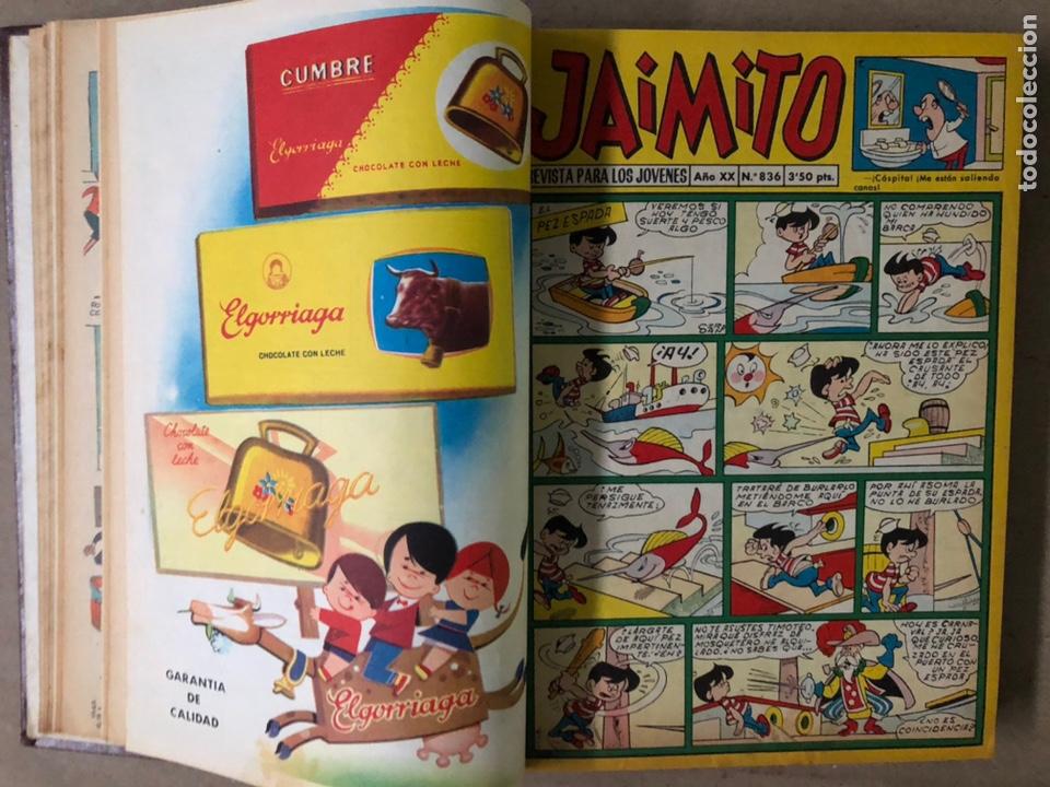 Tebeos: JAIMITO (EDITORIAL VALENCIANA). LOTE DE 47 TEBEOS ENCUADERNADOS EN 3 TOMOS. DE 1961 A 1969. - Foto 29 - 210969221