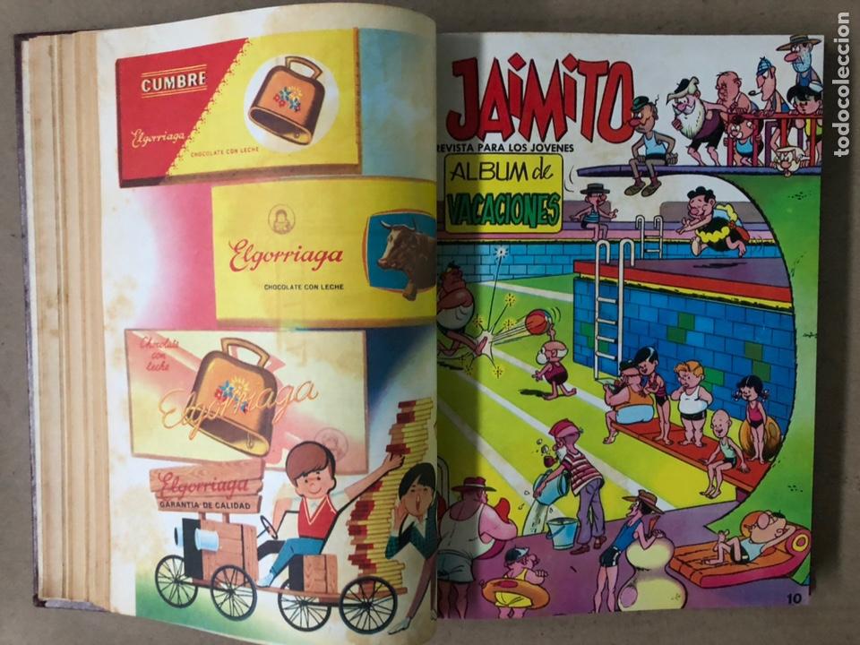 Tebeos: JAIMITO (EDITORIAL VALENCIANA). LOTE DE 47 TEBEOS ENCUADERNADOS EN 3 TOMOS. DE 1961 A 1969. - Foto 31 - 210969221