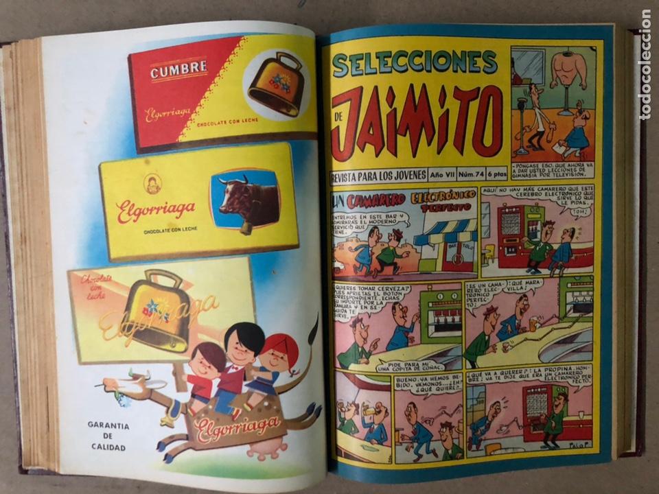 Tebeos: JAIMITO (EDITORIAL VALENCIANA). LOTE DE 47 TEBEOS ENCUADERNADOS EN 3 TOMOS. DE 1961 A 1969. - Foto 33 - 210969221