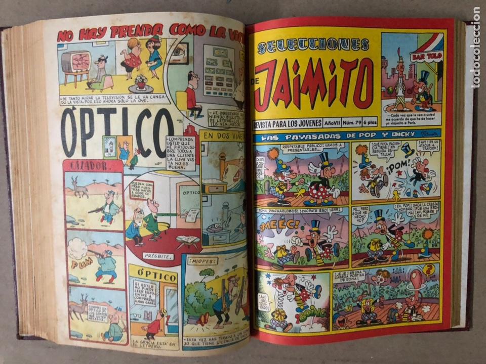 Tebeos: JAIMITO (EDITORIAL VALENCIANA). LOTE DE 47 TEBEOS ENCUADERNADOS EN 3 TOMOS. DE 1961 A 1969. - Foto 38 - 210969221