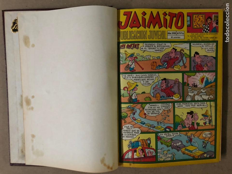 Tebeos: JAIMITO (EDITORIAL VALENCIANA). LOTE DE 47 TEBEOS ENCUADERNADOS EN 3 TOMOS. DE 1961 A 1969. - Foto 46 - 210969221
