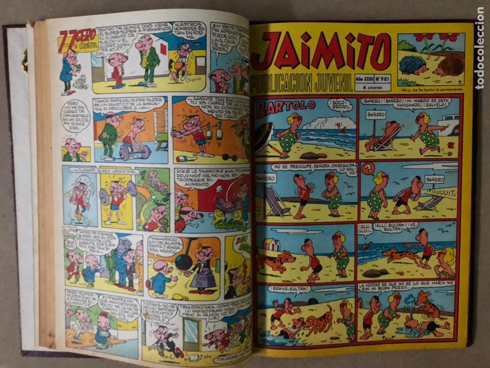 Tebeos: JAIMITO (EDITORIAL VALENCIANA). LOTE DE 47 TEBEOS ENCUADERNADOS EN 3 TOMOS. DE 1961 A 1969. - Foto 49 - 210969221