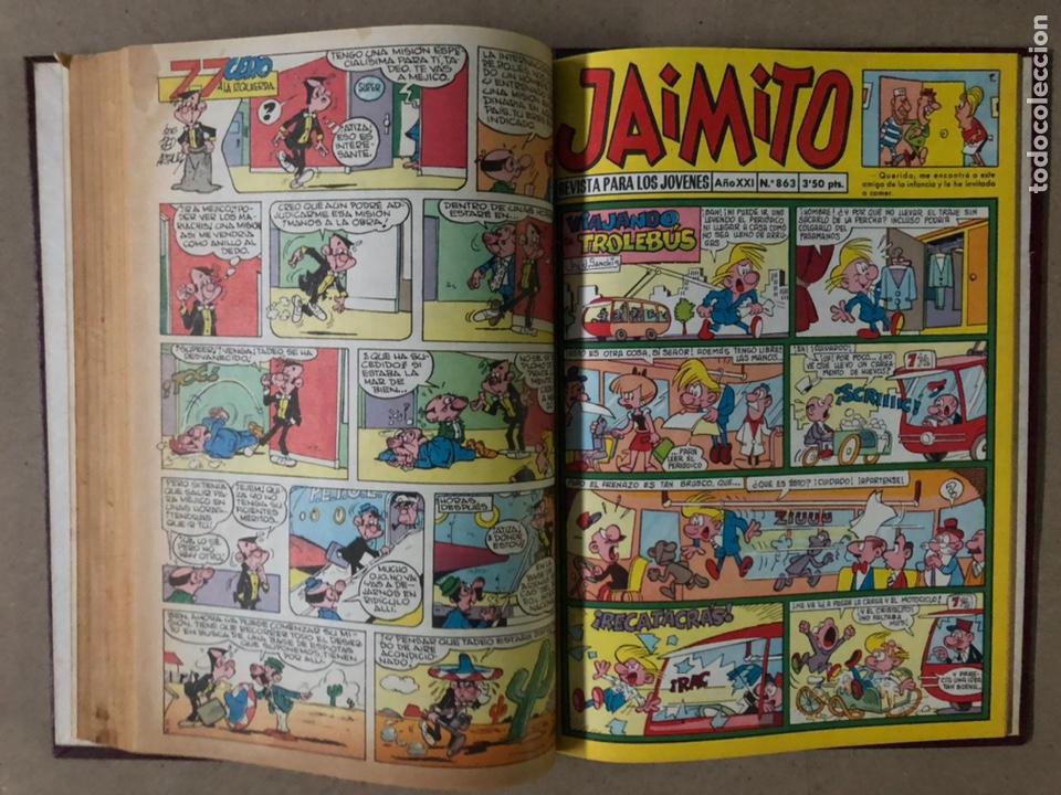 Tebeos: JAIMITO (EDITORIAL VALENCIANA). LOTE DE 47 TEBEOS ENCUADERNADOS EN 3 TOMOS. DE 1961 A 1969. - Foto 53 - 210969221