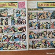 Tebeos: NARRACIONES PARA LA JUVENTUD AUDAZ. COLECCIÓN COMPLETA. EDITORIAL VALENCIANA 1951. DOS TOMOS. ED JLA. Lote 211458582