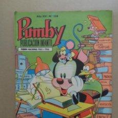 Tebeos: PUMBY Nº 558 EDITORIAL VALENCIANA. Lote 211481411