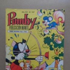 Tebeos: PUMBY Nº 537 EDITORIAL VALENCIANA. Lote 211481635